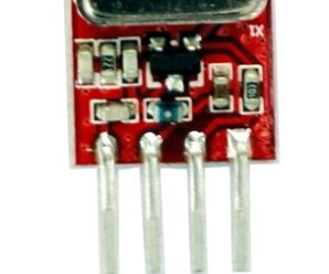 Wireless switch using 434MHz ASK modules