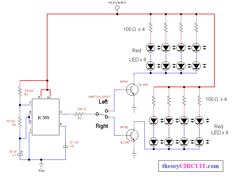 Bicycle Direction Indicator Light Theorycircuit Do It