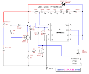 Current Control Circuit for LED