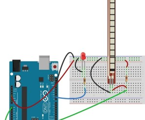 Flex Sensor with Arduino