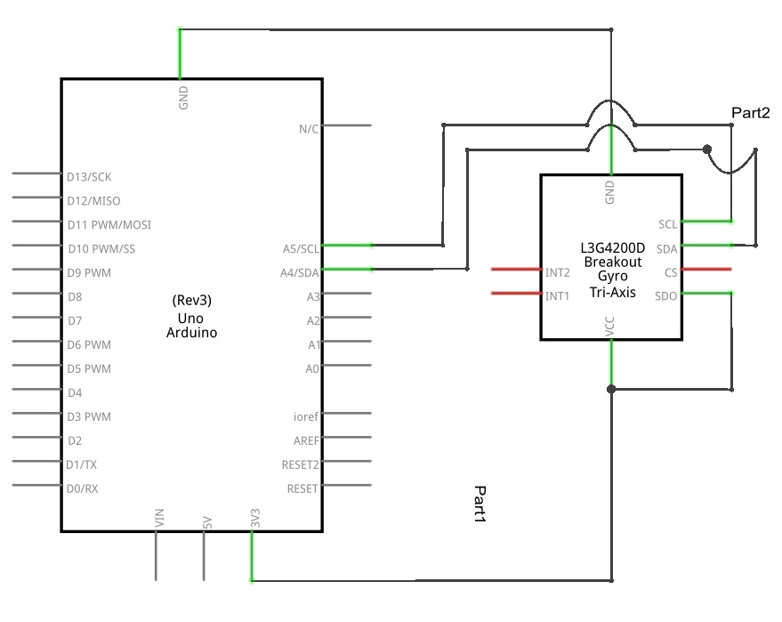 Enjoyable Gyroscope L3G4200D Arduino Schematic Theorycircuit Do It Wiring 101 Akebretraxxcnl