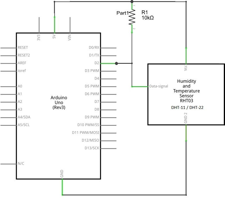 humidity sensor with arduino theorycircuit do it yourself rh theorycircuit com humidity fan wiring diagram humidity controller wiring diagram