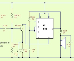 IC555 as Amplifier