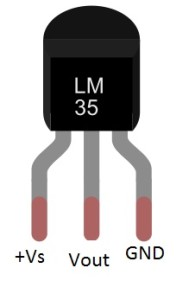 Temperature level bar graph using LM35 with Arduino