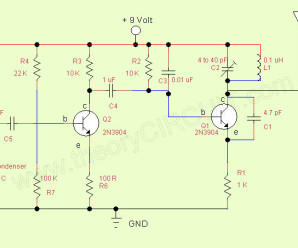 simple transmitter and receiver circuit diagram Archives