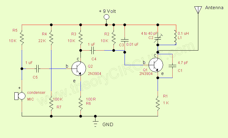 Simple Fm Transmitter Theorycircuit Do It Yourself