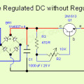 Simple Regulated DC without Regulator IC