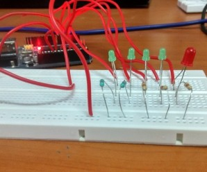 Analog Input bar graph using Arduino