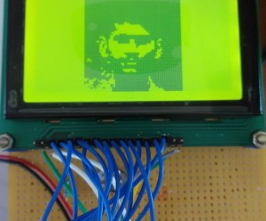 Interface GLCD with Arduino  (Display your photo in GLCD)