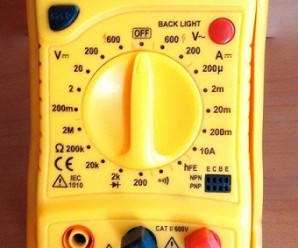 Unknown facts in Multimeter