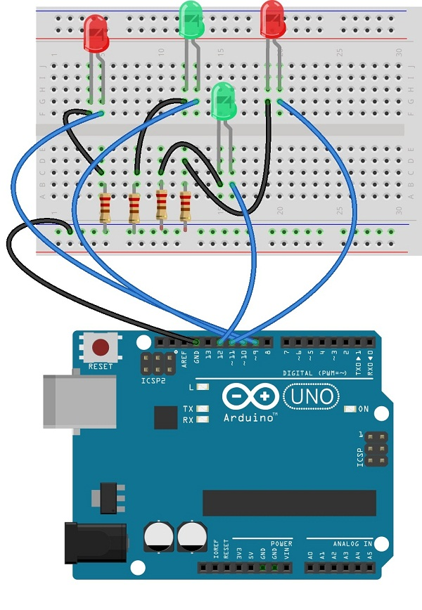Serial communication with arduino theorycircuit do it