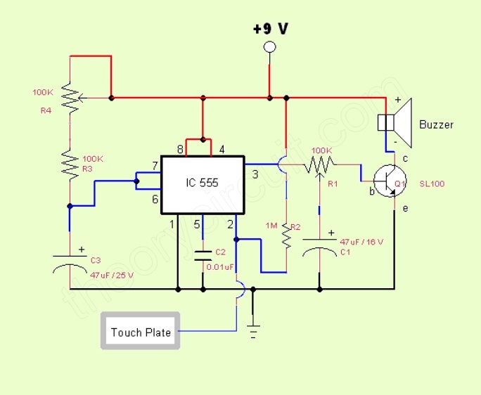 Incredible Useful Timed Beeper Circuit Schematic Circuit Diagram And Wiring Cloud Strefoxcilixyz