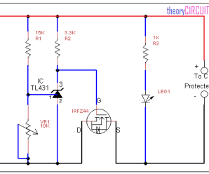 Over voltage protection switch circuit