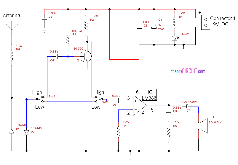 radio frequency circuit diagram pdf