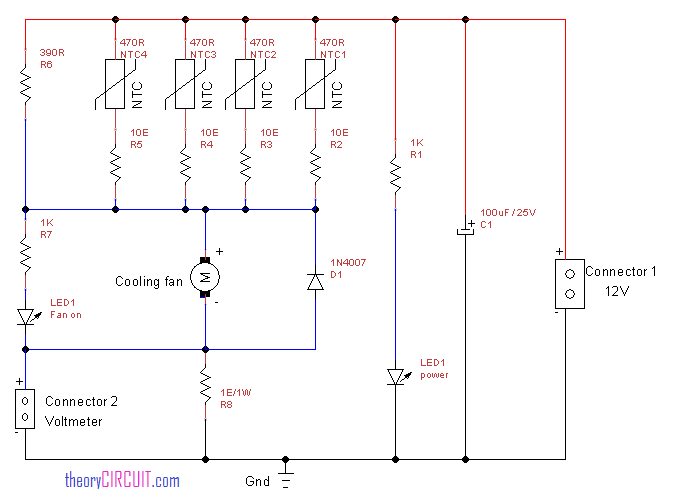 Cooling    Fan    speed control    circuit