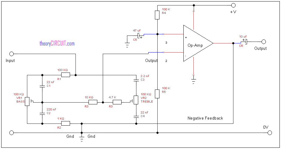 Simple Tone Control Circuit Diagram furthermore Tda 2822 Stereo  lifier as well Low Noise In  Nanovolt Sensitivity together with Power  lifier Mosfet 360 W additionally Subwoofer Module  lifier Using 4558. on op amp preamplifier circuit