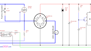 Auto Switch off light circuit