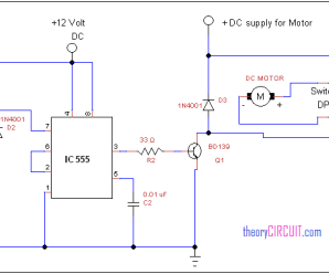 Theorycircuit elektronik for Forward reverse dc motor control circuit