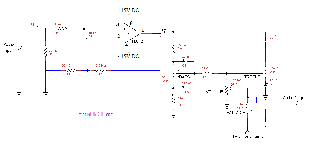 Tremendous Tone Control Circuit Using Ic Tl072 Wiring Digital Resources Anistprontobusorg