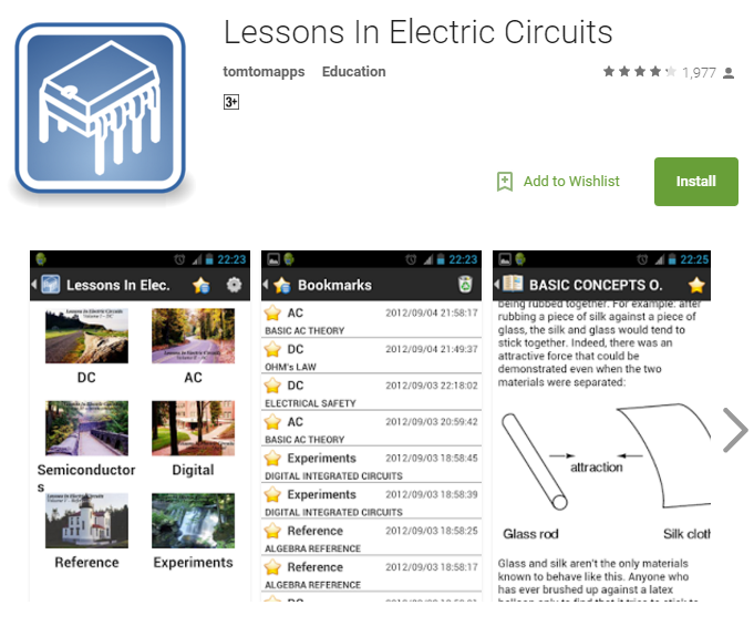 lessons in electric circuits app