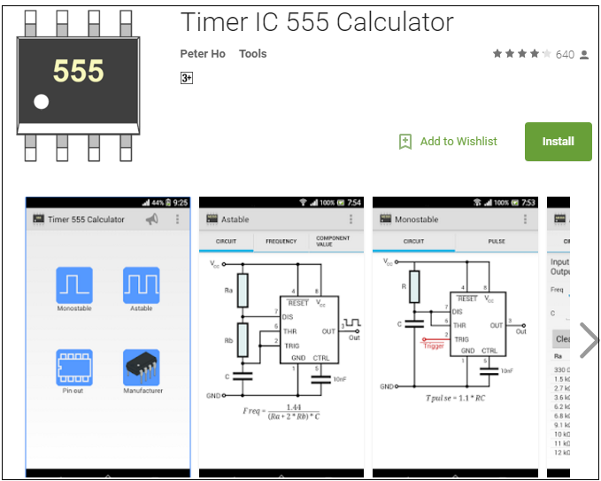timer ic 555 apps