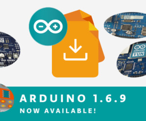Arduino IDE 1.6.9 Released