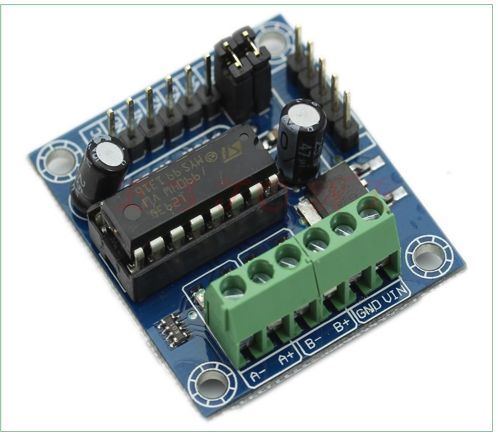 Arduino Stepper Motor Interface on single phase motor and components