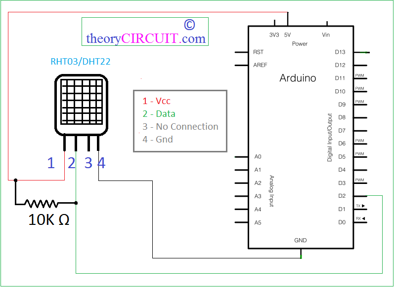 Rht03 Humidity And Temperature Sensor With Arduino