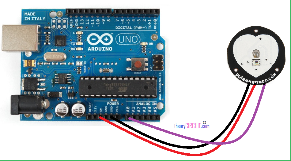 Pulse Sensor With Arduino