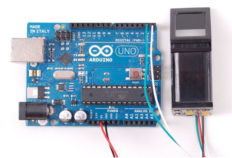 Fingerprint sensor scanner with Arduino