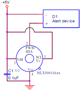 infrared-thermal-alarm-circuit