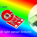 ISL 29125-RGB color Light Sensor with Arduino