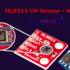 Arduino-UV sensor ML8511