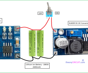 Power Bank Circuit for Smartphones