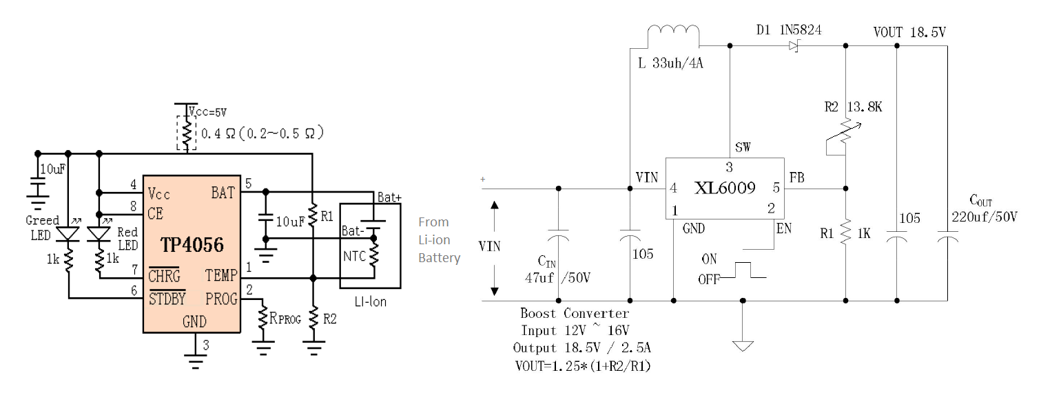Power Bank Circuit For Smartphones Baud Rate Generator Electronic Circuits Diagram