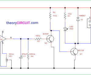 Soldering Smoke Extractor Circuit