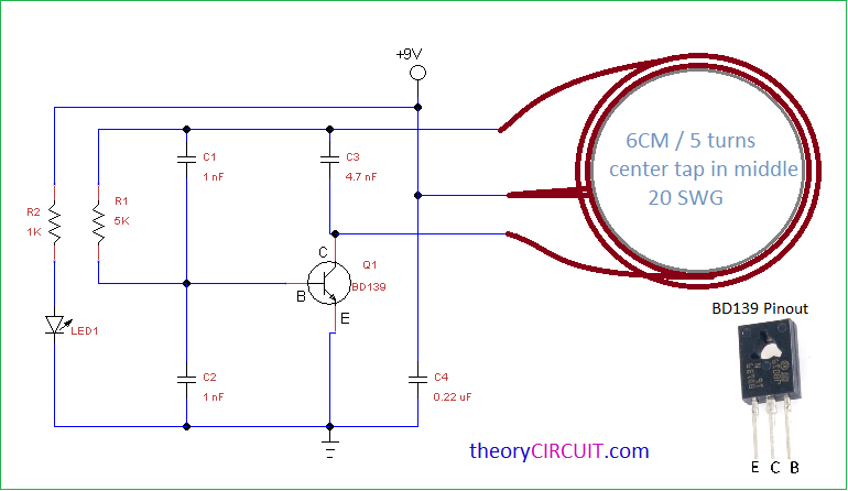 Wireless Gadgets Charger Circuit on dc power supply schematic diagram
