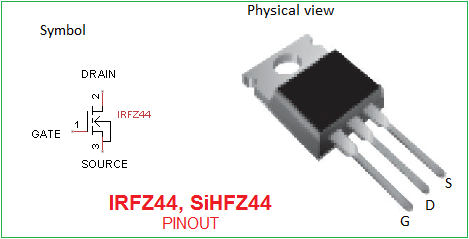 Irfz44 Pin Out Theorycircuit Do It Yourself