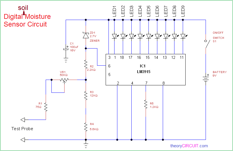 Simple Analog Phase Detector Circuit Diagram Measuringandtest