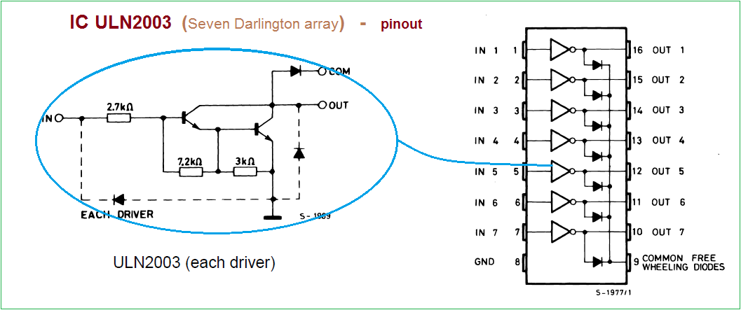 Simple Inverter Circuit Using Cd4047 And Uln2003