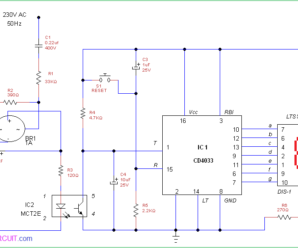 AC Power Interruption Counter Circuit
