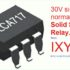 30V Solid State Relay from IXYS