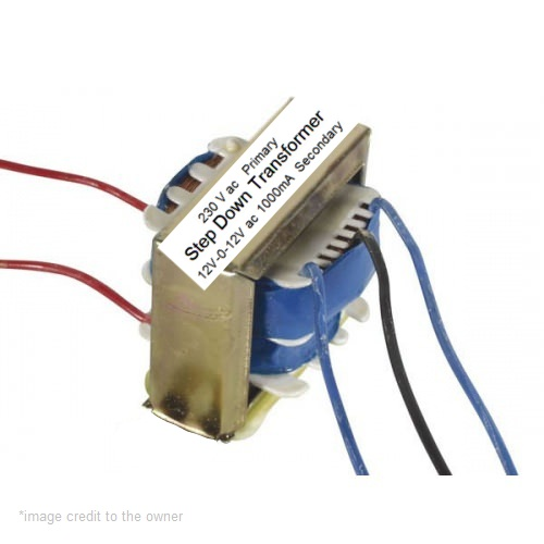 step down transformer center tapped - theoryCIRCUIT - Do It Yourself