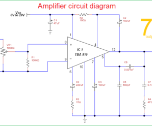Fabulous Circuit Diagram Of Audio Amplifier Of 12V Archives Theorycircuit Wiring 101 Vieworaxxcnl