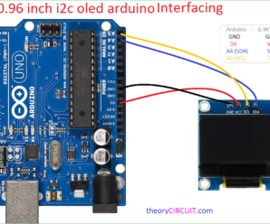 0.96 inch i2c oled arduino interfacing