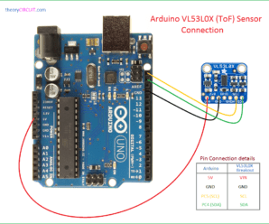 VL53L0X Arduino Interface