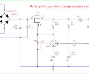 battery charger circuit diagram with auto cut off rh theorycircuit com