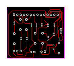 LA4440 Amplifier Circuit Board