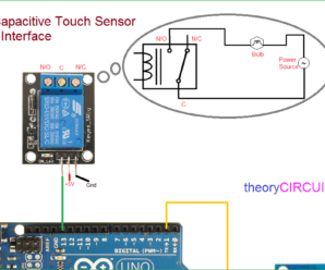 Digital Capacitive Touch Sensor arduino Interface