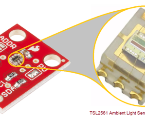 Arduino TSL2561 Ambient Light Sensor Interface